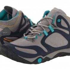 Pantofi sport femei Merrell Proterra Mid Gore-Tex | Produs original | Se aduce din SUA | Livrare in cca 10 zile lucratoare de la data comenzii - Adidasi dama
