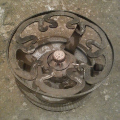 Spirtiera veche de colectie, frumos obiect decorativ - Metal/Fonta