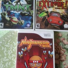 Vand jocuri nintendo wii, sistem american, NTSC, pachet 3 buc - Jocuri WII Activision, Actiune, 12+, Multiplayer