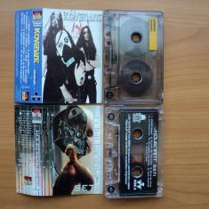 2 casete KOVENANT - ANIMATRONIC si SETI, licenta ROCRIS DISC in stare foarte buna - Muzica Rock roton, Casete audio