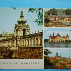 MOKAZIE !!! HOPCT 8446 GERMANIA DRESDA SI MONUMENTELE DIN ZONA, Europa, Necirculata, Printata