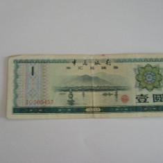 BBS1 - CHINA - 1 YUAN