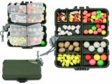 HK - cutie cu diferite tipuri de momeli artificiale flotante si aromatizate