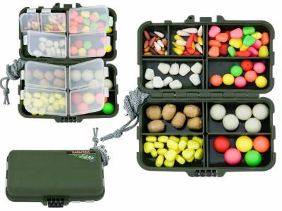 HK - cutie cu diferite tipuri de momeli artificiale flotante si aromatizate foto