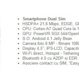 Vand Allview P5 Quad + card 16 GB+ husa