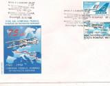 Plic omagial - 75 de ani Compania Franco Romana de Navigatie Aeriana, Dupa 1950