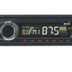 RADIO MP3 PLAYER AUTO CU USB/SD redare MP3 card stick fata detasabila - CD Player MP3 auto