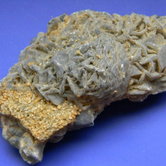 Specimen minerale - SIDERIT SI FLOROCALCIT - Fosila roca