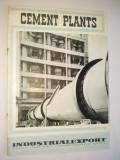 Pliant romanesc de prezentare pentru fabrici de ciment, anii '60