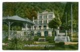 1359 - HERCULANE, Cazinoul si Parcul - old postcard - used - 1925