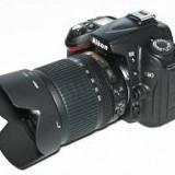 Camera Foto Nikon D90 + obiectiv Nikkor 50-200 mm