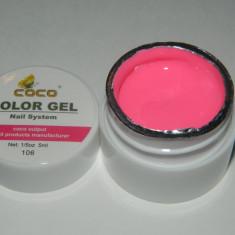 GEL UV COLOR COCO( NR. 106 )CULORI FOARTE PIGMENTATE CONSISTENTA MEDIE CALITATE GARANTATA ORIGINAL - Gel unghii Coco, Gel colorat
