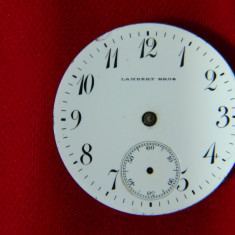 Mecanism ceas mana Lambert Bros defect - Ceas de mana