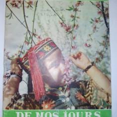 Revista FEMME DE NOS JOURS - Nr. 6 1960 ( scurt articol despre SPUTNIK ) - Revista femei
