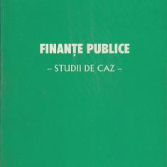 Finante publice - studii de caz - Florian Catinianu - Carte despre fiscalitate