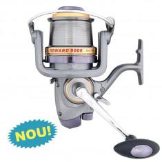 """Mulineta Baracuda Reward 8000 tambur long cast"""" si baitrunner model NOU 2014"""