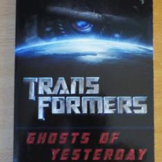Transformers - Ghosts of Yesterday - Reviste benzi desenate Altele