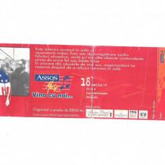 Bilet de colectie, bilet acces concert Prodigy 1997