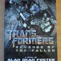 Transformers Revenge of the Fallen Movie Novel - Reviste benzi desenate Altele