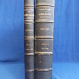 REVISTA CINCI LEI * GAZETA NOASTRA ILUSTRATA - ANII 1, 2 * NR.1-87 - 1933-1935 - Carte de colectie