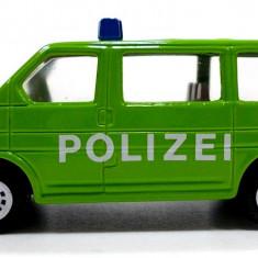 SIKU -SCARA 1/58-VW TRANSPORTER,, POLIZEI''-++2501 LICITATII !! - Macheta auto