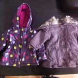 Geaca fetita (2 modele), magazin Z, 18 luni & 24 luni, Culoare: Maro