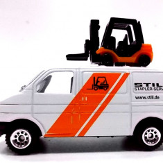 SIKU -SCARA 1/58-VW TRANSPORTER,, STIHL''-++2501 LICITATII !! - Macheta auto