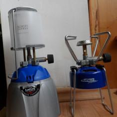 Set pentru campimg - lampa si aragaz de voiaj - cu butelie butan gaz, La Playa, produse noi - Aragaz/Arzator camping