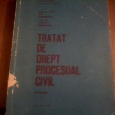 ILIE STOENESCU TRATAT DE DREPT PROCESUAL CIVIL - AUTOGRAF Stoenescu, ZilbersteinDEDICATIE PENTRU PROF. NICOLAE VOLONCIU - Carte Drept procesual civil