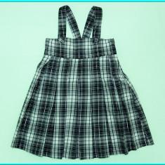 DE FIRMA _ Sarafan, IMPECABIL, stofa cu fir metalic H&M _ fetite | 6-7 ani | 122 - Sarafan copii