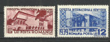ROMANIA 1939 ,, EXPOZITIA INTERNATIONALA NEW-YORK '' MNH