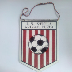 Fanion A.S. Sticla Ariesul Turda - Fanion fotbal