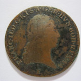 3 Kreuzer 1800 E AUSTRIA cupru