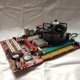 KIT PLACA DE BAZA LGA 775 MSI PM8M3-V DDR1/AGP + PROCESOR INTEL P4 3.0GHZ + COOLER |CD CU DRIVERE INCLUS| GARANTIE 12 LUNI
