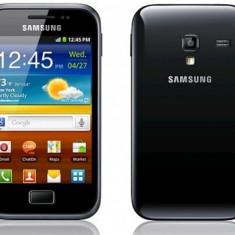 Samsung Galaxy mini 2 S6500D in garantie, liber retea + husa silicon - Telefon mobil Samsung Galaxy Mini 2, Gri, Neblocat