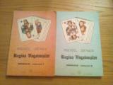 REGINA VAGABONTILOR --  Michel Zevaco  -- roman 2 vol.,  1992, 168 + 157 p