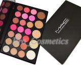 Trusa Machiaj 26 culori cu pudra si blush MAC trusa farduri naturale, Mac Cosmetics