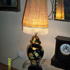 Lampa veioza portelan de Limoges marcata