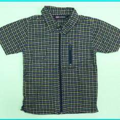 NOUA _ Camasa cu maneca scurta, bumbac FADED GLORY _ baieti | 3 - 4 ani | 104 cm, Marime: Alta, Culoare: Bleumarin
