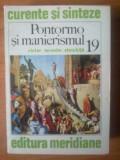 J Victor Ieronim Stoichita - Pontormo si manierismul, Alta editura