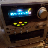 Vand dublu casetofon Vectronic (amplificator 2 x 10 wati), 0-40 W