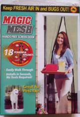Perdea anti insecte cu inchidere magnetica Magic Mesh foto
