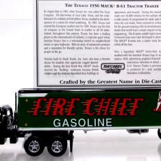 MATCHBOX-DINKY- COLLECTIBLES -SCARA 1/87- MACK B-61 CONTAINER,, TEXACO'' - ++2501 LICITATII !! - Macheta auto Siku