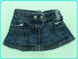 IMPECABILA→ Fusta—fustita blugi, frumoasa, HEMA → fetite | 18—24 luni | 86—92 cm, Albastru