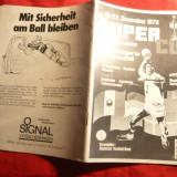 Caiet Prezentare- Turneul de Handbal din RFG 1979 ,inclusiv Romania