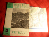 Colectia Muntii Nostri - Retezat -ONT ,cu harta mare