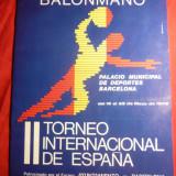 Caiet Prezentare -Turneul International Handbal Spania 1976