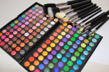 Trusa machiaj make up 168 culori fard MAC + Set 12 pensule par natural Fraulein, Fraulein38
