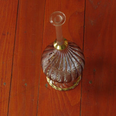 Vaza deosebita din sticla / cristal - model deosebit !!! - Arta din Sticla
