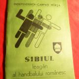 Carpati- Marsa- Sibiul Leagan al Handbalului Romanesc 1982